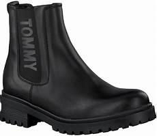 schwarze hilfiger chelsea boots en0en00242 omoda de