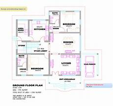 kerala house floor plans kerala villa design plan and elevation 2760 sq feet