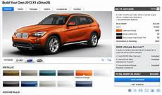Build Your Own 2013 Bmw X1 Configurator Live On Bmwusa