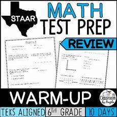 science review worksheets 6th grade 12383 staar math review 6th grade by custom classroom by angela tpt