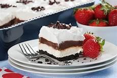 chocolate dessert lasagna mrfood com