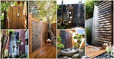 20 outdoor shower ideas that will wake up all of your senses