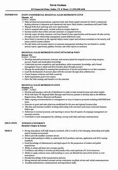 cv of sales representative 3 resume layout