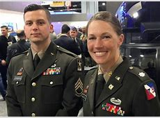 green and pink military uniforms