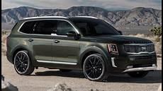 2020 kia telluride exterior 2020 kia telluride sx awd interior exterior and drive
