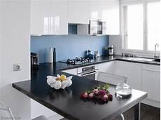 Idee Deco Cuisine Blanche Et Bleu Cuisine Cuisine