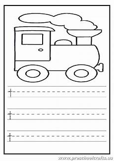 lowercase letter t worksheets kindergarten and 1 st grade train coloring page preschool crafts