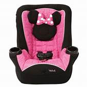 Disney Minnie Mouse Infant Toddler Baby Convertible Car