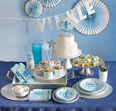 1 Geburtstag Blinke Kleiner In Blau Ideen