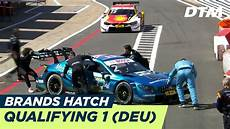 Dtm Brands Hatch 2018 Qualifying Rennen 1 Re Live