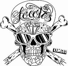 cool graffiti coloring pages skull ausmalbilder