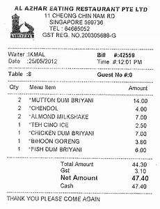 welcome receipt al azhar restaurant 2012 may 24 1200hrs