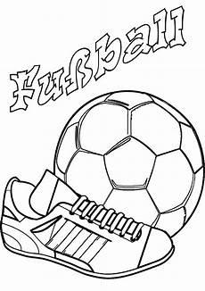 ausmalbild fu 223 fussballschuh und ausmalen