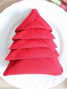 Tree Napkin Folding Two Minutes Technique