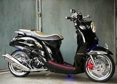 Fino Modifikasi by Konsep Modifikasi Yamaha Fino Klasik Dan Elegan Paling Trendi