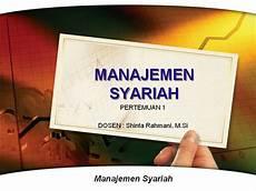 manajemen syariah manajemen syariah authorstream