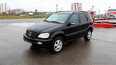 2002 mercedes ml 320 w163 start up engine and in