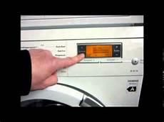 Waschmaschine Teil 9 Fehler Siemens Waschmaschine
