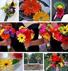 gerbera wedding bouquets flowerchildsandiego
