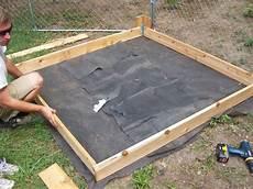 sandkasten selber bauen schritt 6 anleitung sandkasten bauen sandkasten
