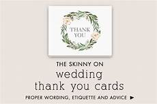Wedding Thank You Etiquette No Gift