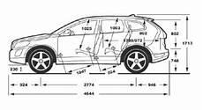 Volvo Xc60 Abmessungen Technische Daten L 228 Nge
