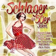 The World Of Schlager Der 50er Jahre 2 Cds Jpc