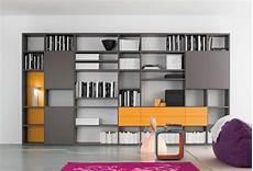libreria con scrivania integrata libreria a parete componibile modello start parete clever
