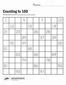 counting numbers to 100 worksheets 8046 count to 100 with help ideas for in school counting to 100 kindergarten math math numbers