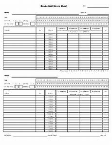 5 basketball score sheet templates word excel templates