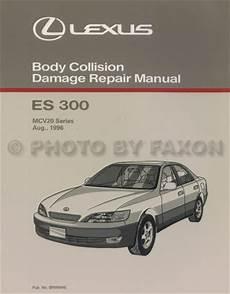 auto manual repair 1993 lexus es electronic throttle control 1997 2001 lexus es 300 body collision repair shop manual
