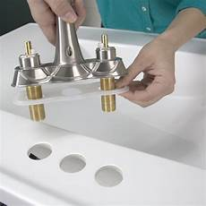 replace a bathroom faucet diy lowes replace bathroom