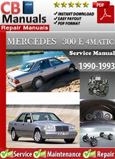 vehicle repair manual 1993 mercedes benz 300e security system mercedes 300e 4matic 1990 1993 service repair manual ebooks automotive