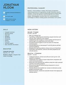 professional resume exles our most popular resumes in one place