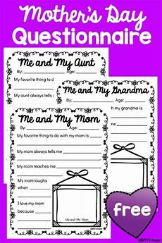 s day printable questionnaire 20586 s day questionnaires s day activities s day printables aunts day