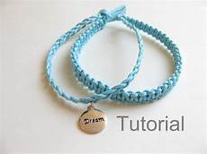 Makramee Armband Anleitung - knotted bracelet beginners macrame pattern tutorial pdf two in