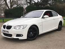 2011 60 Bmw 320d M Sport Coupe Fsh Alpine White