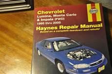 hayes auto repair manual 2005 chevrolet monte carlo spare parts catalogs haynes chevrolet lumina monte carlo impala 95 2005 repair manual ebay