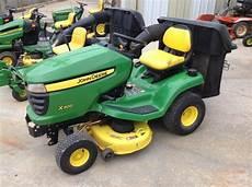 deere x300 lawn garden tractors trigreen equipment