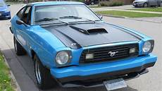 this ford mustang ii mach 1 has a turbo nissan