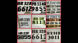 Best Lazer Font Number Plates For Your Bikes/by A