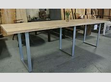 Standing height conference table. Custom made and custom