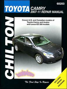 car repair manuals online free 2007 toyota camry head up display shop service repair manual chilton toyota camry lexus es350 avalon ebay