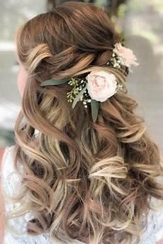 42 half up half down wedding hairstyles ideas wedding forward