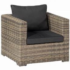 lounge sessel terrasse poly rattan lounge sessel rimini persoon outdoor living