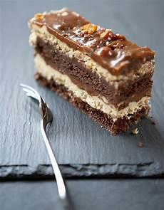 Gateau Chocolat Croustillant Praliné 3 Chocolats Sur Un Croustillant Pralinoise Pour 14