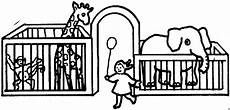 im zoo ausmalbild malvorlage kinder