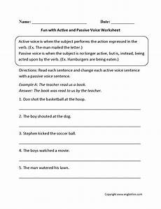 grammar worksheets active and passive voice 24694 englishlinx active and passive voice worksheets