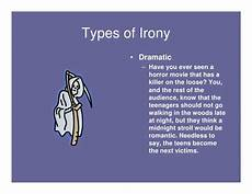 types of irony