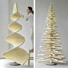 Weihnachtsbaum Modern Holz - diy weihnachtsbaum aus holzlatten trees